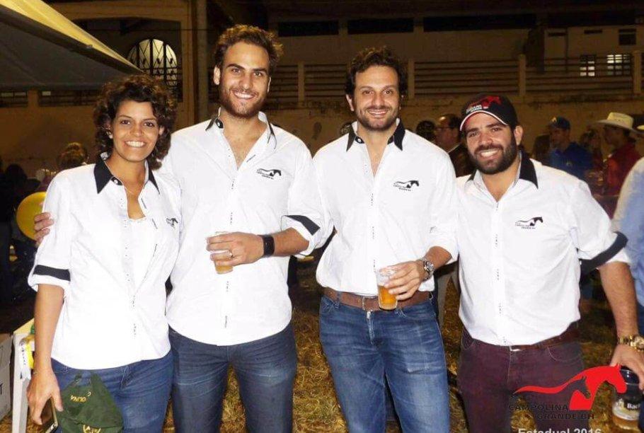 camisa para evento usada na Exposição Nacional do Cavalo Campolina