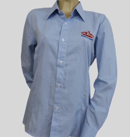 Camisas sociais para uniformes profissionais
