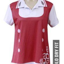 camisa feminina polo de dryfit