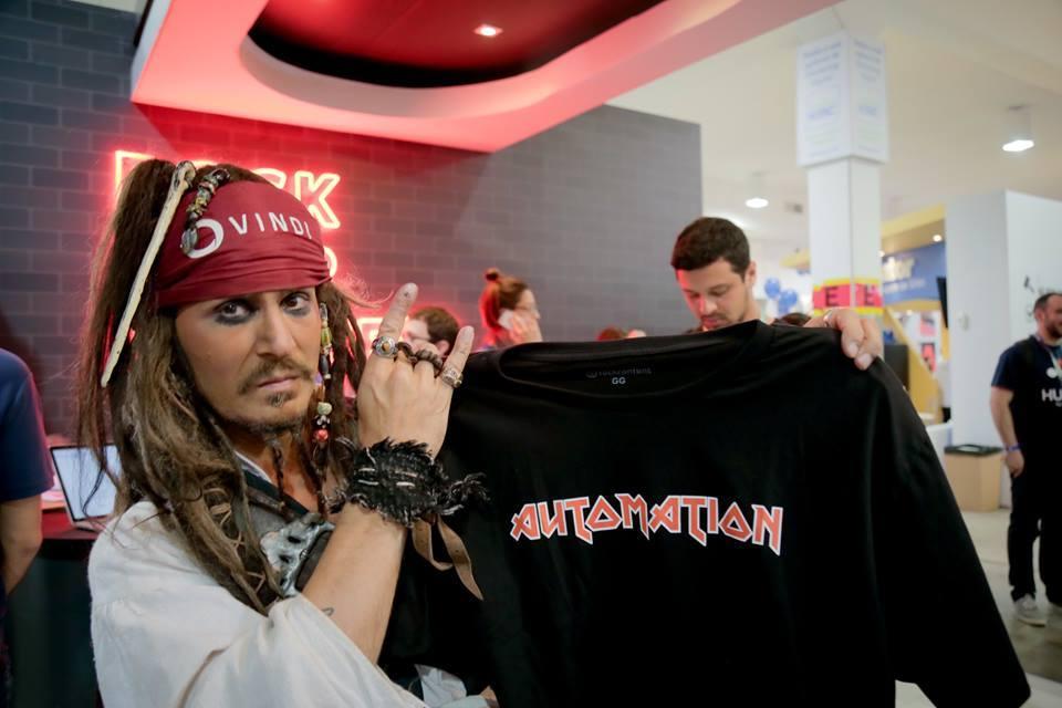 camisas da rock content inspiradas em marketing