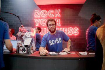 camisa da rock content no RD Summit