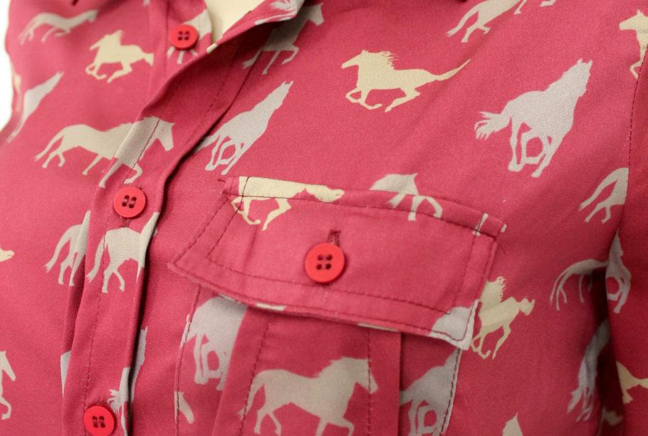 camisa social feminina criativa