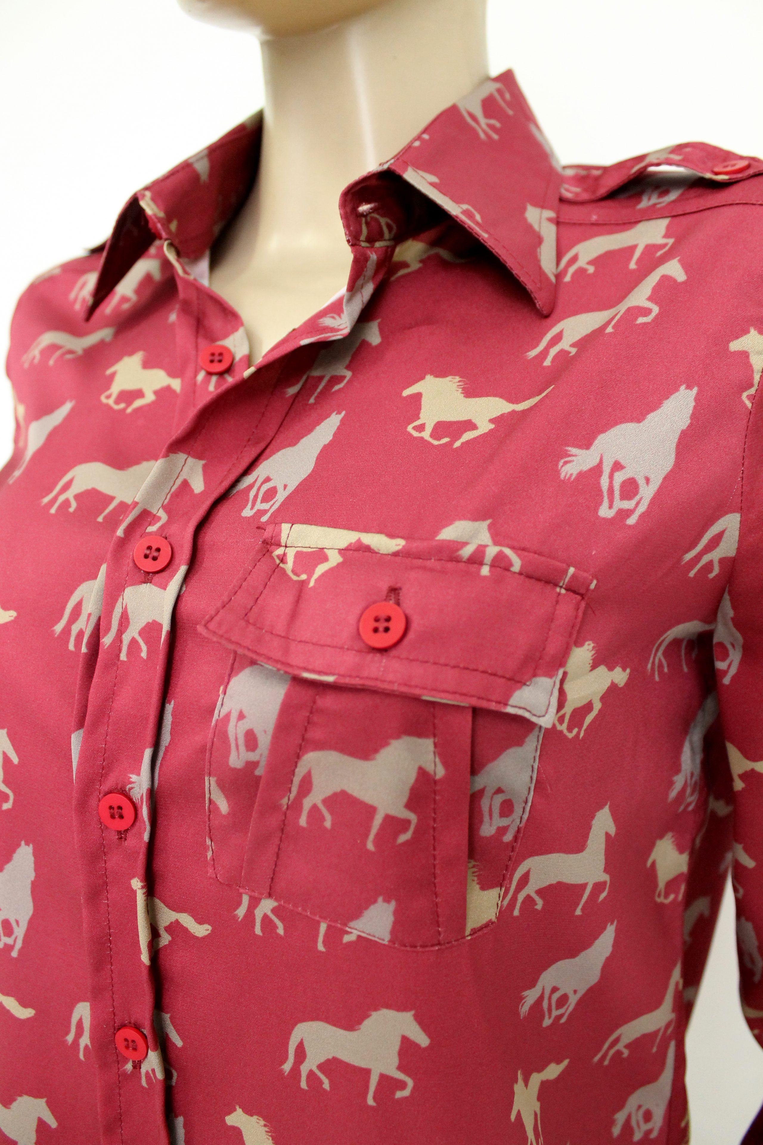 5 camisas sociais femininas de uniforme diferentes - W3 Uniformes 2e9db26c3a526