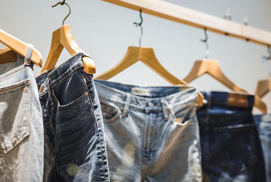 Calça Jeans peça mais vendida