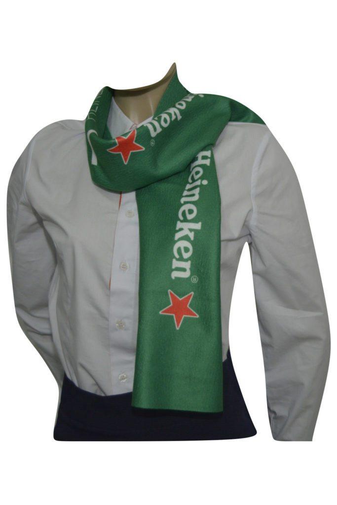 cachecol da Heineken