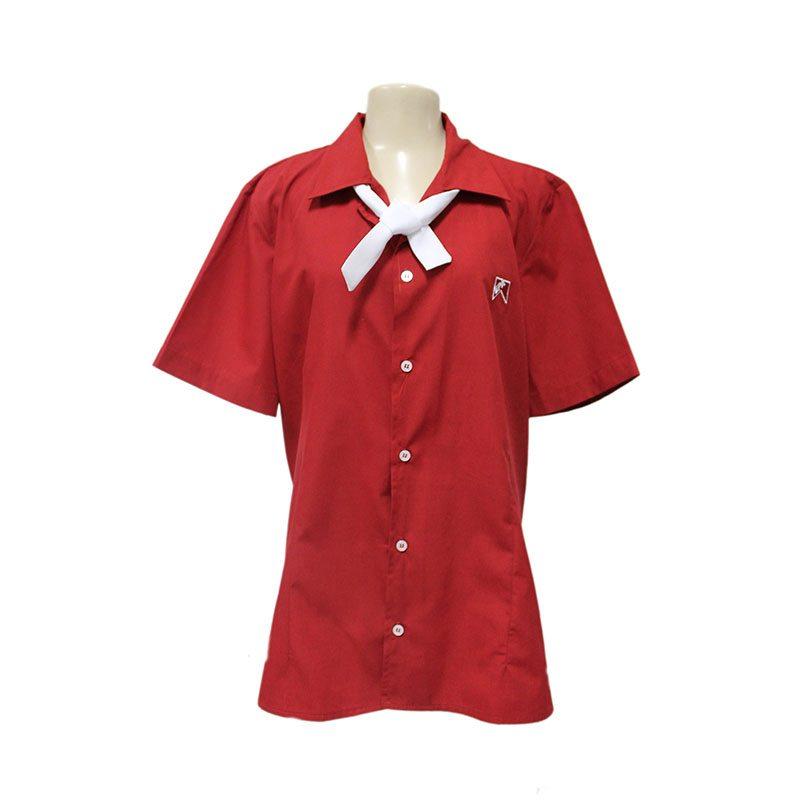 camisa com lenco acoplado