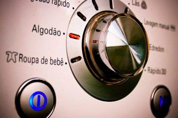 como lavar roupa de algodao