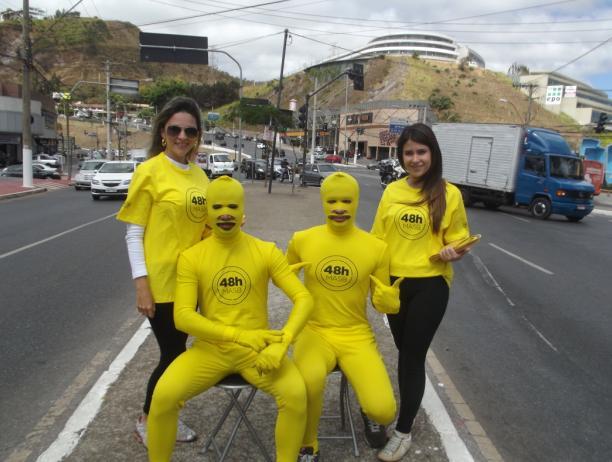 masb homens amarelos