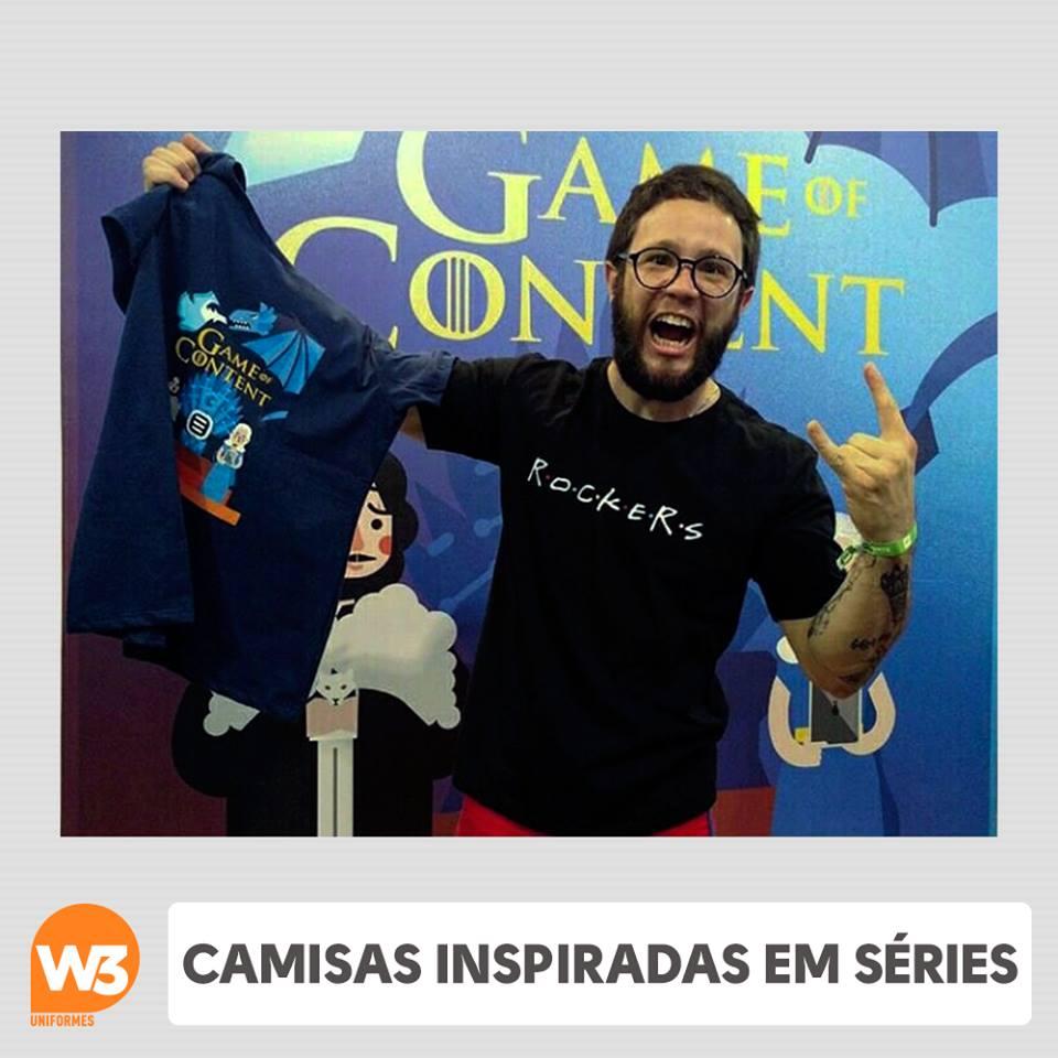 camisetas criativas para evento