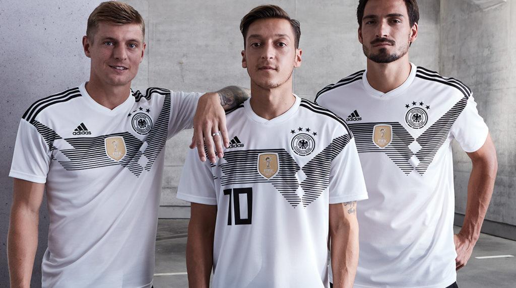 Camisa da seleção alemã