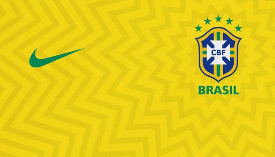 história dos uniformes da seleção brasileira