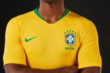 uniforme seleção 2018