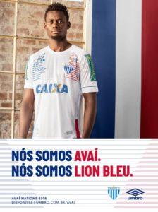 Camisa do Avaí em homenagem à seleção da França, que está na Copa do Mundo