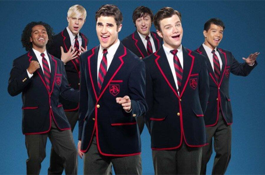 Uniforme usado por parte do elenco de Glee