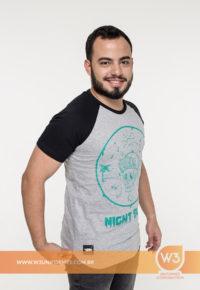 Camiseta De Malha Com Manga Raglan - Chillibeans
