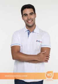 Camisa Gola Pólo De Uniforme Masculina - Ale