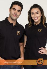 Camisa Pólo Em Malha Piquet Algodão Com Elastano - Mangalarga Marchador