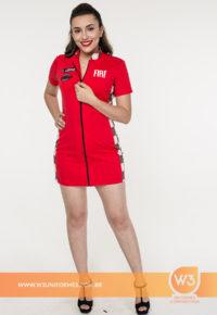 Vestido De Promotora Gola Alta - Fiat