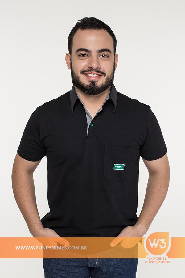 Camisa polo para uniformes profissionais » W3 Uniformes Corporativos e5253f0fdc847