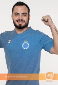 Camiseta De Malha Esportiva - Cruzeiro