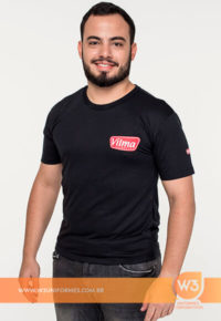 Camiseta De Malha Para Uniforme De Promotor - Vilma Alimentos