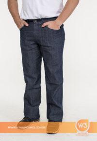 Calça de uniforme Jeans Masculina Para Uniforme