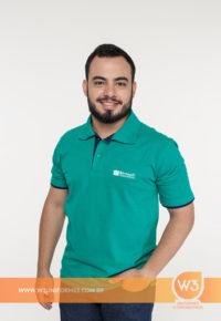 Camisa Gola Pólo Masculina Para Uniforme - Bernoulli