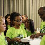 Camisa com frase em Braille: Sinjus promove ações de inclusão