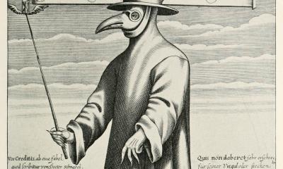 Os uniformes assustadores da história, como o Médico della Peste
