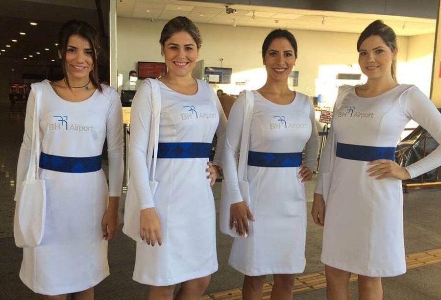 modelo de vestido de uniforme