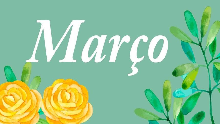 dias especiais de março