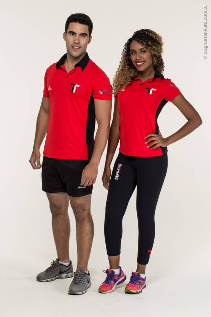 uniforme da Pratto Fitness
