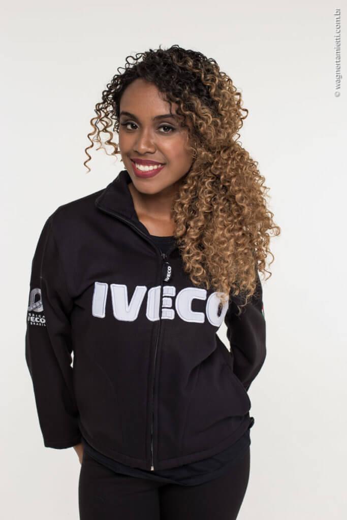 Jaqueta de moletom - uniformes da Iveco