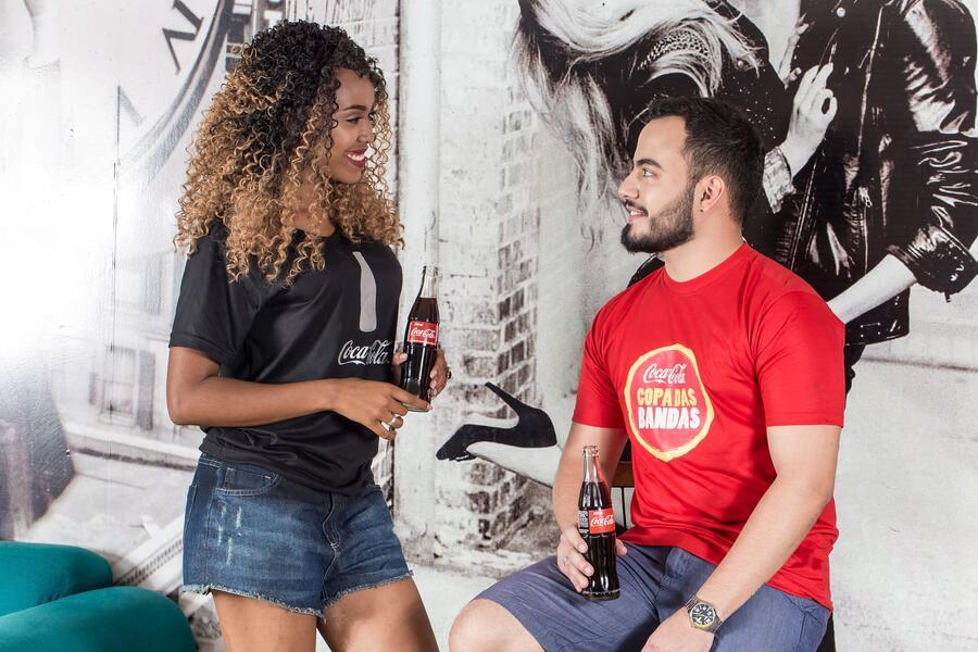 primeira venda grande W3 para Coca-Cola
