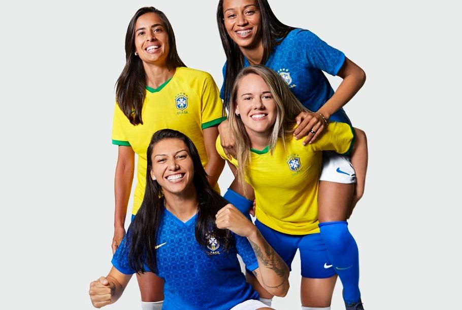 Uniforme Seleção Feminina de Futebol 2019