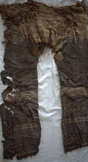 peças encontradas na China têm indício da história das calças