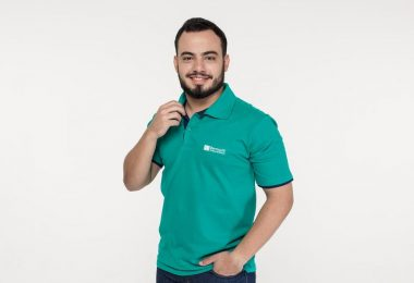 Uniforme polo do Colégio Bernoulli