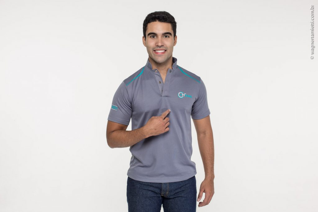 camisa polo dry fit