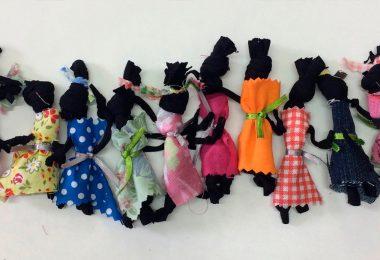 Família de bonecas Abayomi