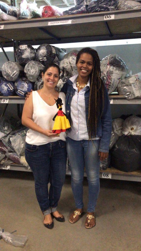 Marcela Alexandre da Dandarinhas Abayomi e Vanessa Carolina da W3 Uniformes Corporativos