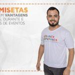 Camiseta: peça traz resultados antes, durante e depois da realização de  evento
