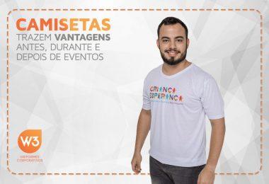 camisetas para eventos