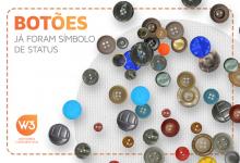 Capa de artigo sobre história do botão