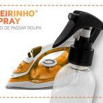 Receitas caseiras: spray de passar e desodorante de roupa