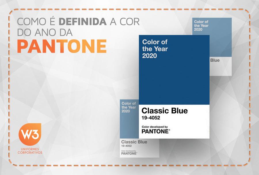 Classic Blue cor do ano 2020