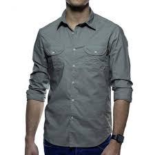 bolso na camisa social