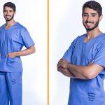 Pijama cirúrgico sai do hospital e se populariza em outros estabelecimentos de saúde