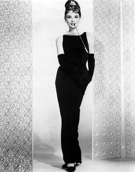 Vestido Audrey Hepburn - Bonequinha de Luxo