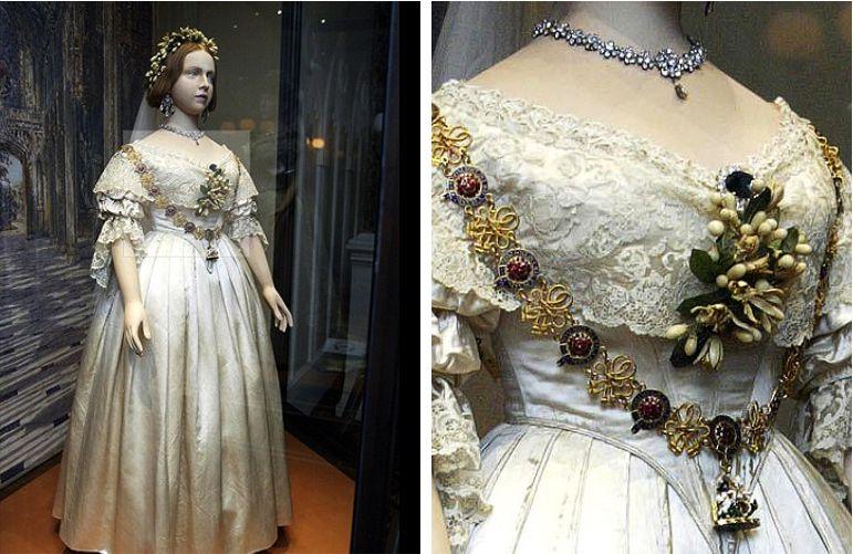 Vestido de noiva da Rainha Vitória
