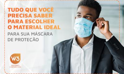 material ideal para sua máscara de proteção